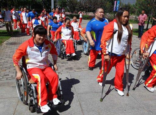 China's Paralympic team swept all aside in Beijing four years ago, with 89 golds and 211 medals in total