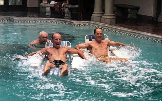Wilford Brimley, Hume Cronyn, Don Ameche in <em>Cocoon</em> (Photo: Everett)