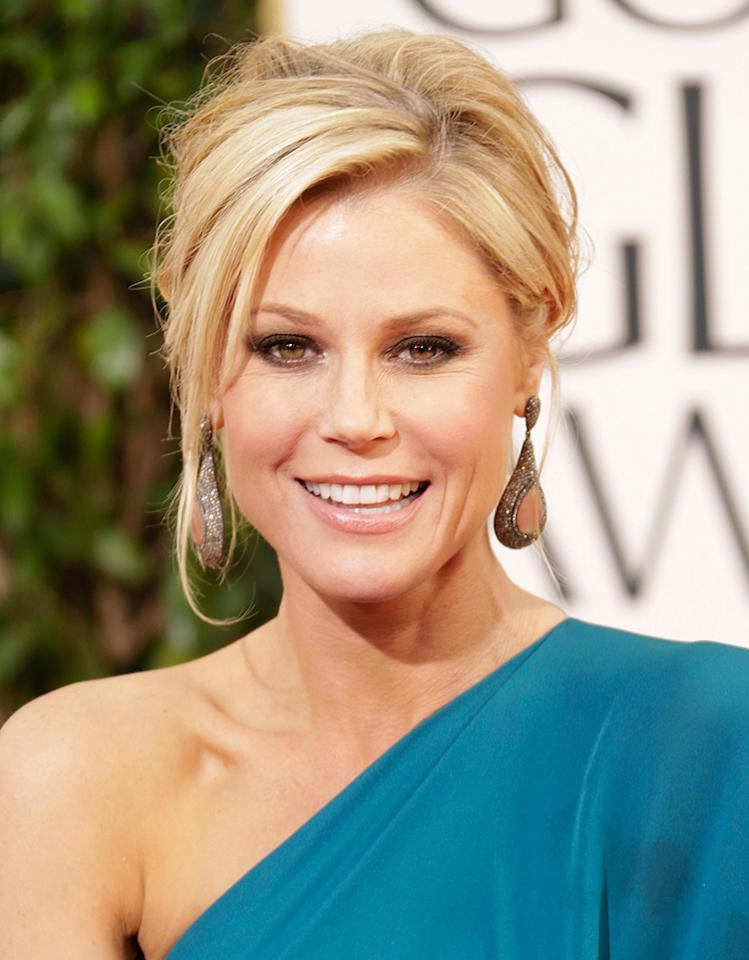 Julie Bowen arrives at the 70th Annual Golden Globe Awards at the Beverly Hilton in Beverly Hills, CA on January 13, 2013.