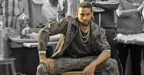It's not often that you see the supporting actor in a Hindi film set the tone for the lead. Chaturvedi's wide-ranging skills and fluency as an actor are to be praised as he plays the lion-hearted MC Sher who mentors Murad to realise their shared hip hop dreams.