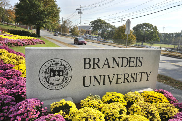Brandeis University is weathering a storm of accusations after a Deadspin report detailed racist behavior from former basketball coach Brian Meehan. (AP Photo)