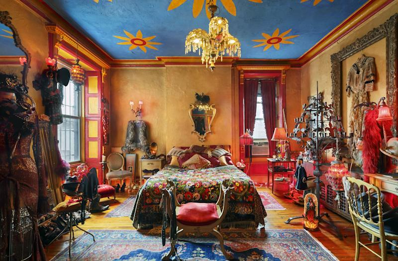 Filmmaker and photographer Tony Notarberardino has also lived in the Chelsea since the mid-'90s, creating a colorful space dedicated to his mesmerizing collection of objects.