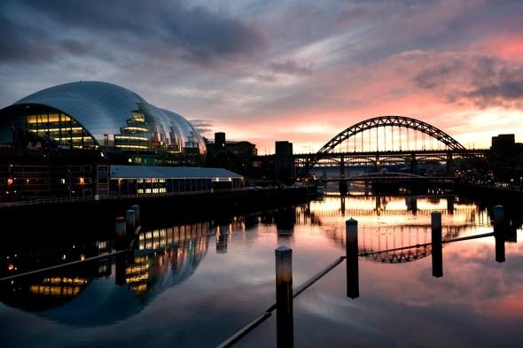 Snog on the Tyne: Newcastle named best place to 'pull' in Britain
