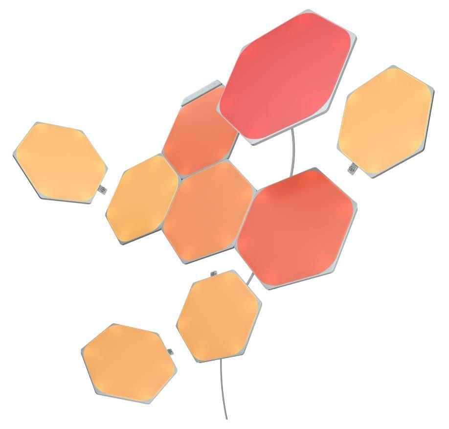 """<p><a class=""""link rapid-noclick-resp"""" href=""""https://uk-shop.nanoleaf.me/collections/all-products/products/nanoleaf-shapes-hexagon-smarter-kit"""" rel=""""nofollow noopener"""" target=""""_blank"""" data-ylk=""""slk:SHOP"""">SHOP</a></p><p>Give your living room a 2001: A Space Odyssey reinvention with ultra-thin modular smart lights which you can turn into all sorts, including touch-sensitive or music-responsive lighting and mirror screening. You don't need to drill either – there's wall-saving mounting tape included. The shapes are endlessly remixable, so you can keep playing around and finding new ways to light things up.</p><p>Nanoleaf, £179.99</p>"""