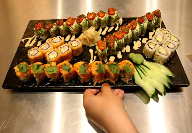 Now on offer in a swish district of the Iranian capital: sushi from the kitchen of a high-end French chain