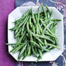 """<p>The best green beans are crunchy green beans...tossed in garlic butter of course. </p><p><a href=""""https://www.womansday.com/food-recipes/a29439835/green-beans-with-garlic-herb-butter-recipe/"""" rel=""""nofollow noopener"""" target=""""_blank"""" data-ylk=""""slk:Get the recipe for Green Beans with Garlic Herb Butter."""" class=""""link rapid-noclick-resp""""><strong><em>Get the recipe for Green Beans with Garlic Herb Butter.</em></strong></a></p>"""