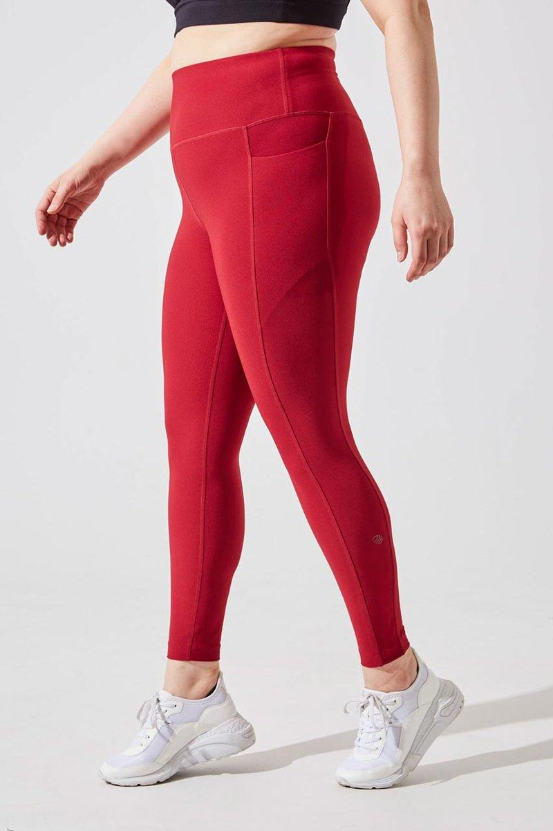Rival High Waisted Recycled Polyester 7/8 Legging. Image via MPG Sport.
