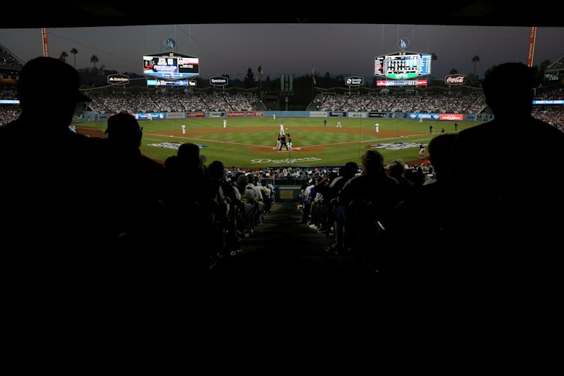 Fan struck in head by batted ball at Dodger game dies