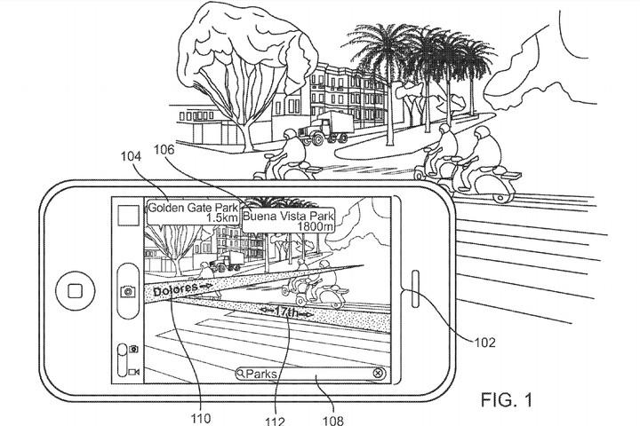 Apple AR Maps Patent