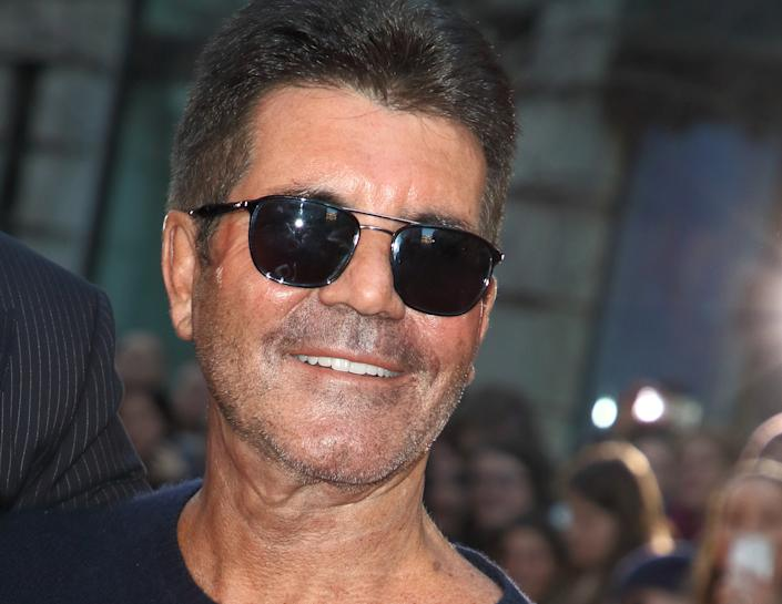 Simon Cowell attends the Britain's Got Talent Auditions Photocall at the London Palladium. (Photo by Keith Mayhew / SOPA Images/Sipa USA)