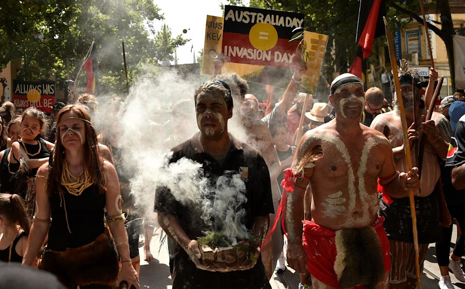 Invasion Day January 26 protest
