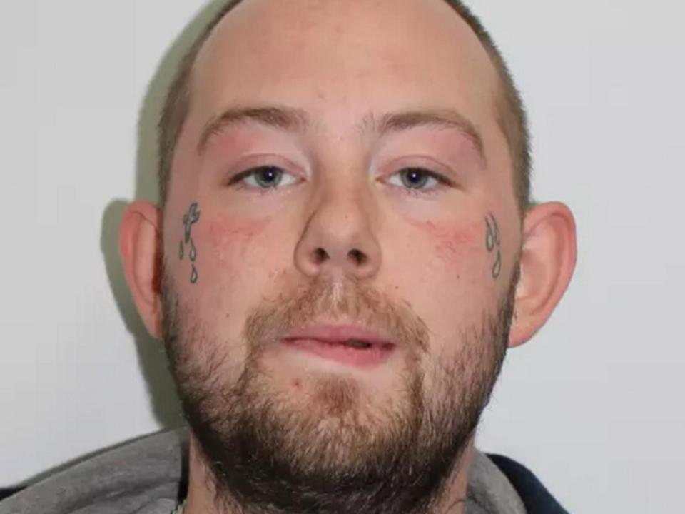 John Tomlin, 25, appeared at Thames Magistrates' Court on Tuesday charged with two counts of grievous bodily harm with intent: Metropolitan Police