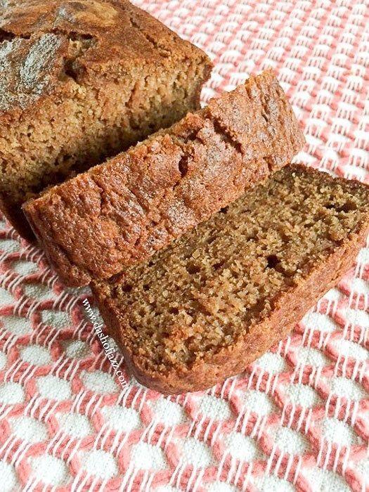"""<p>Applesauce gives this under-an-hour quick bread plenty of flavor, and also keeps the loaf from drying out.</p><p><strong>Get the recipe at <a href=""""https://www.dashofjazz.com/applesauce-quick-bread/"""" rel=""""nofollow noopener"""" target=""""_blank"""" data-ylk=""""slk:Dash of Jazz"""" class=""""link rapid-noclick-resp"""">Dash of Jazz</a>.</strong></p><p><a class=""""link rapid-noclick-resp"""" href=""""https://www.amazon.com/USA-Pan-1140LF-Bakeware-Aluminized/dp/B0029JQEIC/?tag=syn-yahoo-20&ascsubtag=%5Bartid%7C10050.g.35246097%5Bsrc%7Cyahoo-us"""" rel=""""nofollow noopener"""" target=""""_blank"""" data-ylk=""""slk:SHOP LOAF PANS"""">SHOP LOAF PANS</a><br></p>"""
