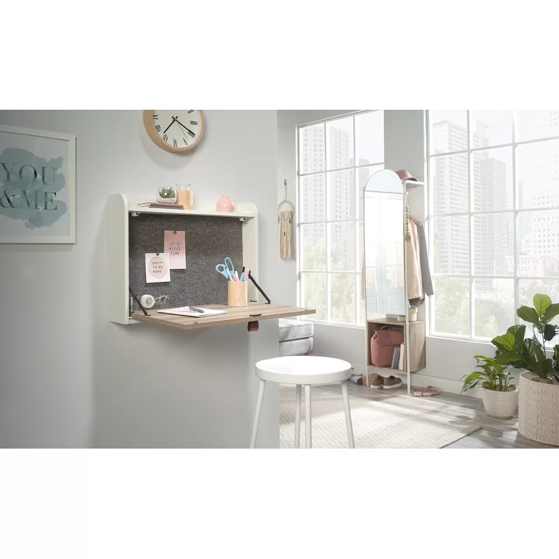 "<h3><a href=""https://www.wayfair.com/furniture/pdp/hashtag-home-brantley-floating-desk-w001785009.html"" rel=""nofollow noopener"" target=""_blank"" data-ylk=""slk:Hashtag Home Brantley Floating Desk"" class=""link rapid-noclick-resp"">Hashtag Home Brantley Floating Desk</a></h3><br><strong>When your bedroom is also your office</strong>: Meet the space-saving champion that is this wall-mounted desk meets vanity — built to support everything from your workspace essentials to your beauty routine in elevated style.<br><br><strong>Hashtag Home</strong> Brantley Floating Desk, $, available at <a href=""https://go.skimresources.com/?id=30283X879131&url=https%3A%2F%2Fwww.wayfair.com%2Ffurniture%2Fpdp%2Fhashtag-home-brantley-floating-desk-w001785009.html"" rel=""nofollow noopener"" target=""_blank"" data-ylk=""slk:Wayfair"" class=""link rapid-noclick-resp"">Wayfair</a>"