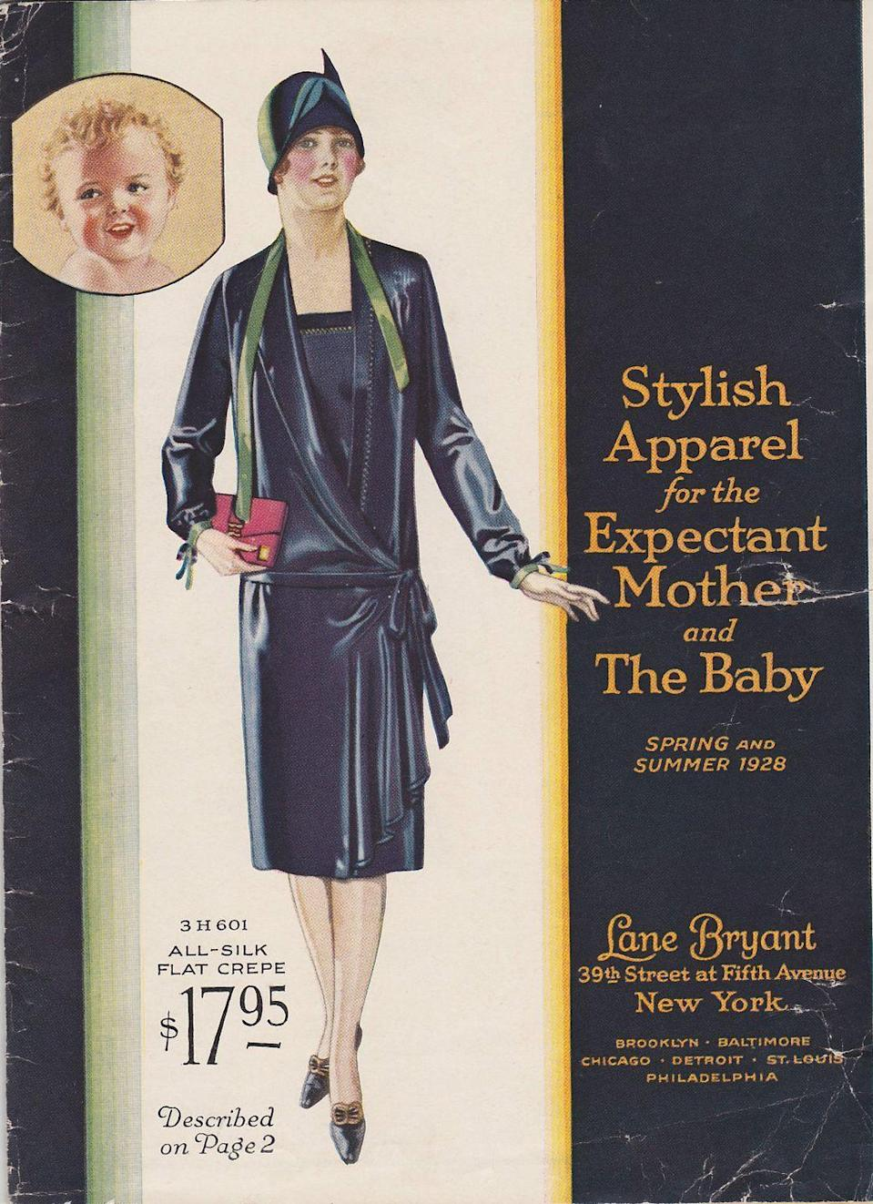 <p>Those drop-waist dresses were the perfect amount of slouchy to accommodate the early stages of a belly.</p>