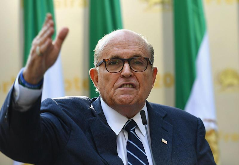 Rudy Giuliani has removed himself from TV networks in recent weeks: Getty