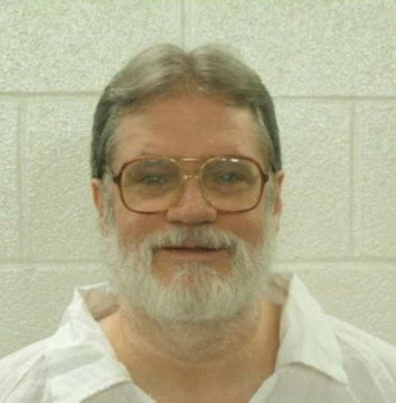 Death row inmate Bruce Ward, scheduled for execution in Arkansas beginning April 17, 2017, is seen here in an undated booking photo.   Courtesy Arkansas Department of Corrections/Handout via REUTERS