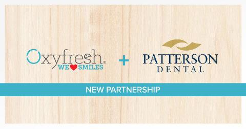 Oxyfresh Partners with One of North America's Largest Providers of Dental Products, Patterson Dental