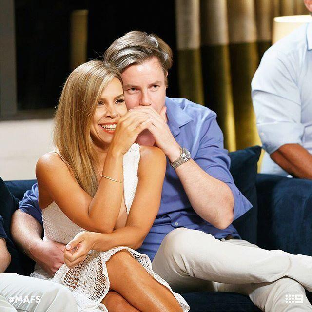 After finding love after Married At First Sight ended Troy and Carly have some even bigger news... a baby on the way. Source: Nine
