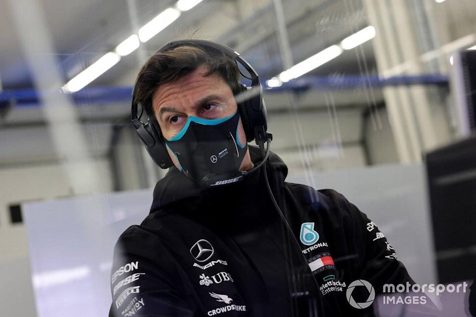 """Toto Wolff, Executive Director (Business), Mercedes AMG<span class=""""copyright"""">Steve Etherington / Motorsport Images</span>"""