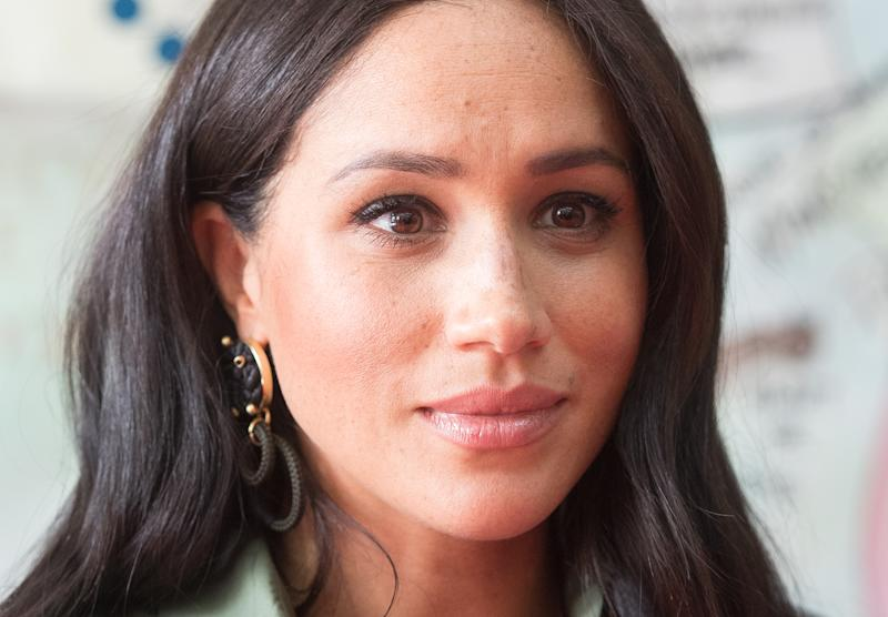 Meghan Markle talks pressures being new mom in spotlight