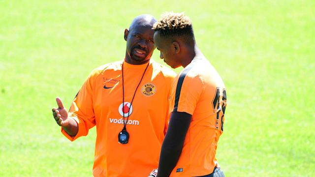 The former South Africa youth international says that he had a good relationship with Komphela despite seeing little game time during his tenure