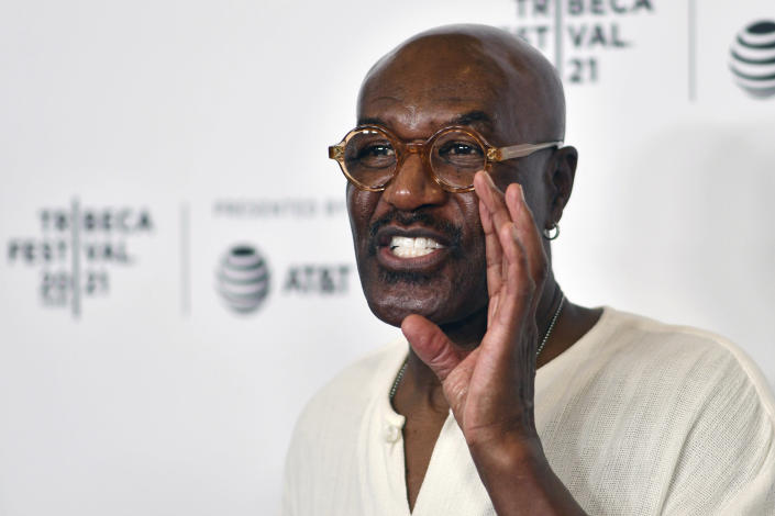 Delroy Lindo attends the premiere of Dave Chappelle's untitled documentary during the closing night celebration for the 20th Tribeca Festival, at Radio City Music Hall, on Saturday, June 19, 2021, in New York. (Photo by Charles Sykes/Invision/AP)