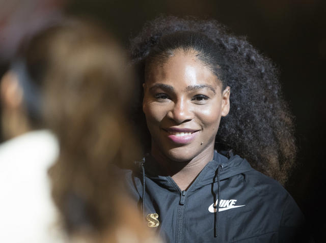 Serena Williams has not played a competitive match since winning the Australian Open: Getty