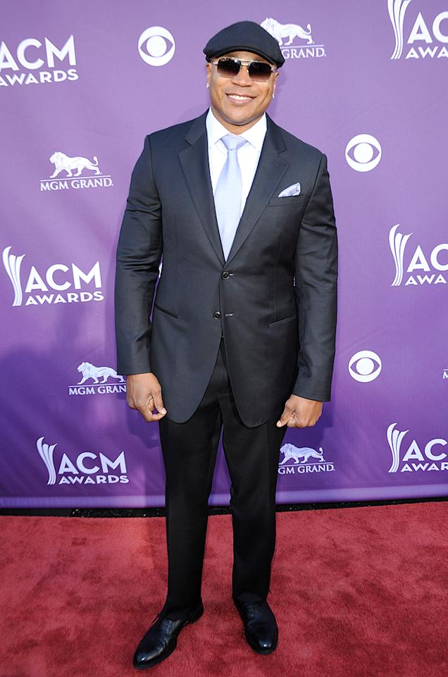 "Presenter and ""NCIS: Los Angeles"" star LL Cool J was dapper as always in his dark suit, oh-so-cool shades, and signature topper. After recently hosting the Grammys, he was probably happy to sit back and relax at the show."