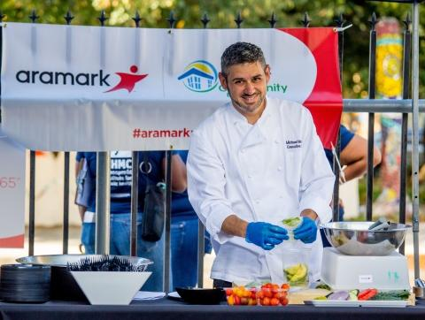 Aramark Volunteers across the Globe Unite to Bring Health and Wellness Education and Workforce Readiness Programs to 400 Communities in 15 Countries