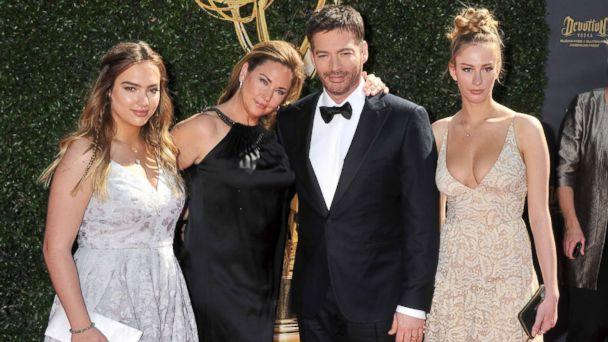 PHOTO: Harry Connick, Jr., wife Jill Goodacre and daughters arrive at the 44th Annual Daytime Emmy Awards at Pasadena Civic Auditorium, April 30, 2017, in Pasadena, Calif. (Gregg DeGuire/WireImage/Getty Images)