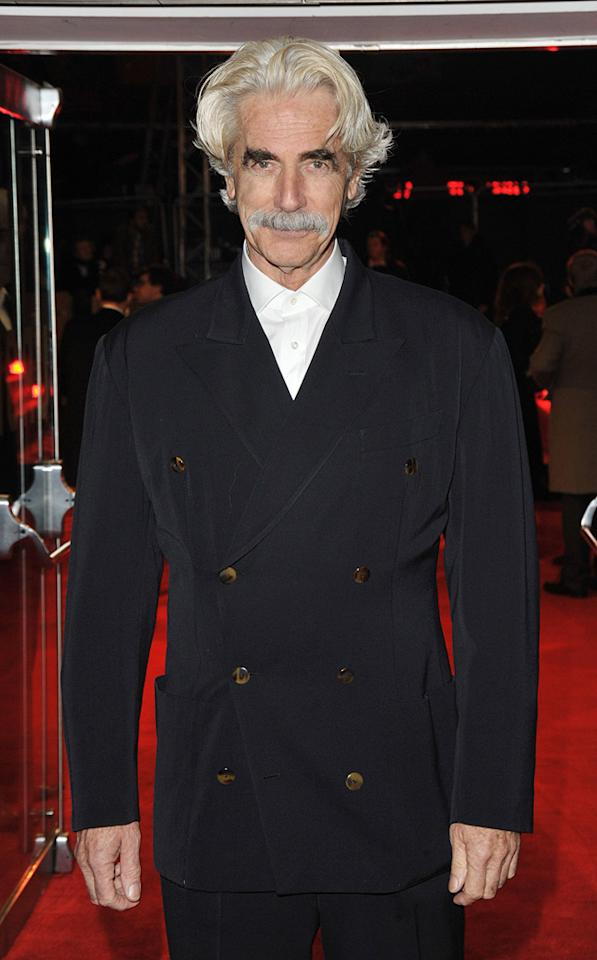 "<a href=""http://movies.yahoo.com/movie/contributor/1800019549"">Sam Elliott</a> at the London premiere of <a href=""http://movies.yahoo.com/movie/1810079689/info"">Did You Hear About the Morgans?</a> - 12/08/2009"