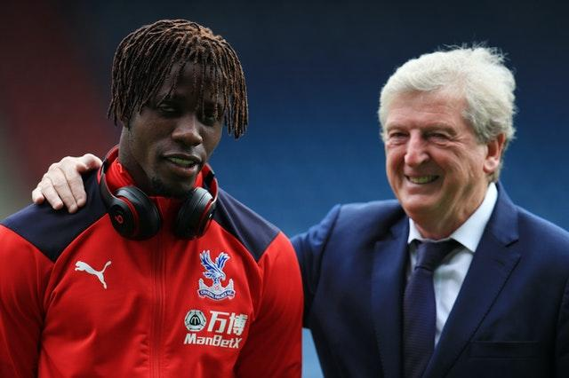 Hodgson praised Zaha for making public the abuse aimed at him.