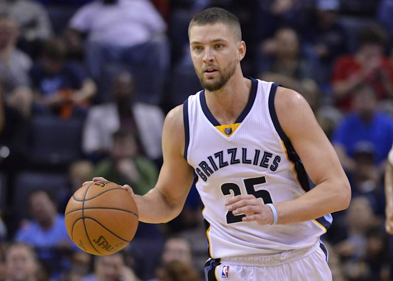 Chandler Parsons' health is a major concern for Memphis. (AP)