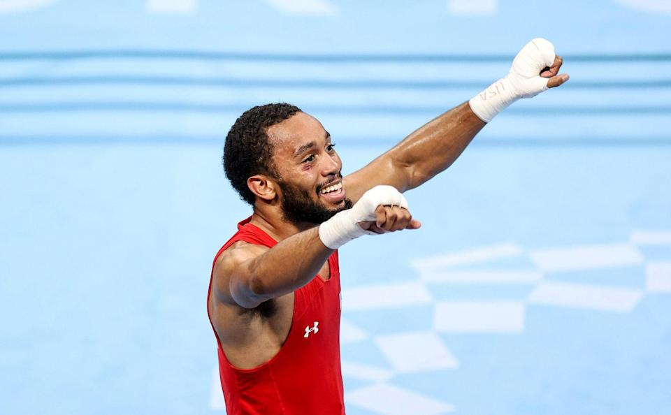 """<p>Biography: 23 years old</p> <p>Event: Men's featherweight boxing</p> <p>Quote: """"Coming from the USA, I was the first professional boxer to compete in the Olympics. I take that and run with it. It was a blessing to be here. I'm glad that I was a professional. A little bit more experience even though I didn't get the gold, but it's all good.""""</p>"""