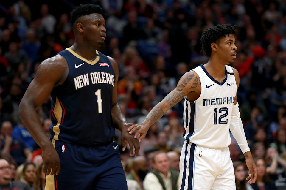 Ja Morant is just as close to superstardom as Zion Williamson. (Sean Gardner/Getty Images)