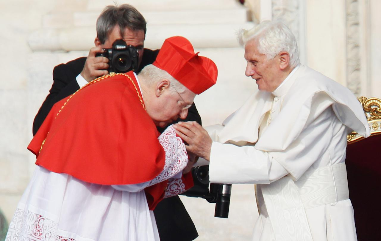Pope Benedict XVI Attends The 2012 World Meeting Of Families