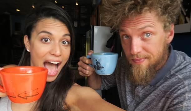 Hunter Pence and his wife, Alexis, are coffee aficionados. (Coral Sword)