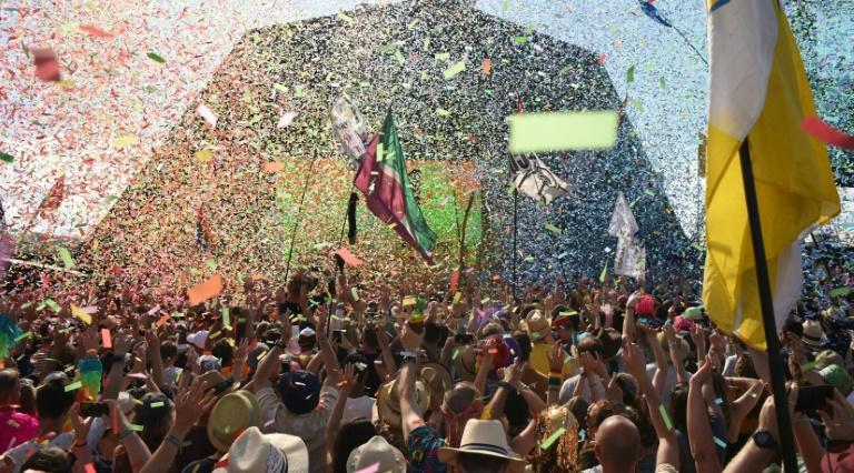 """Glastonbury organisers say the online concert in May will be """"like the festival but without people"""""""