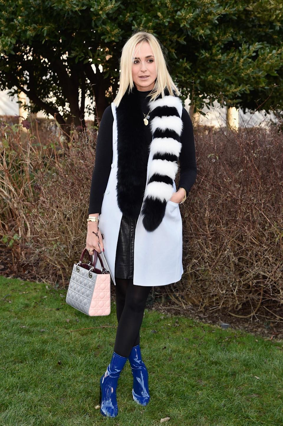<p>Not many people know that this <i>Vogue</i> editor is actually a German princess. Elisabeth is a regular on the couture front rows and is always noticeable for her mix-and-match style of prints and textures. <i>[Photo: Getty]</i> </p>