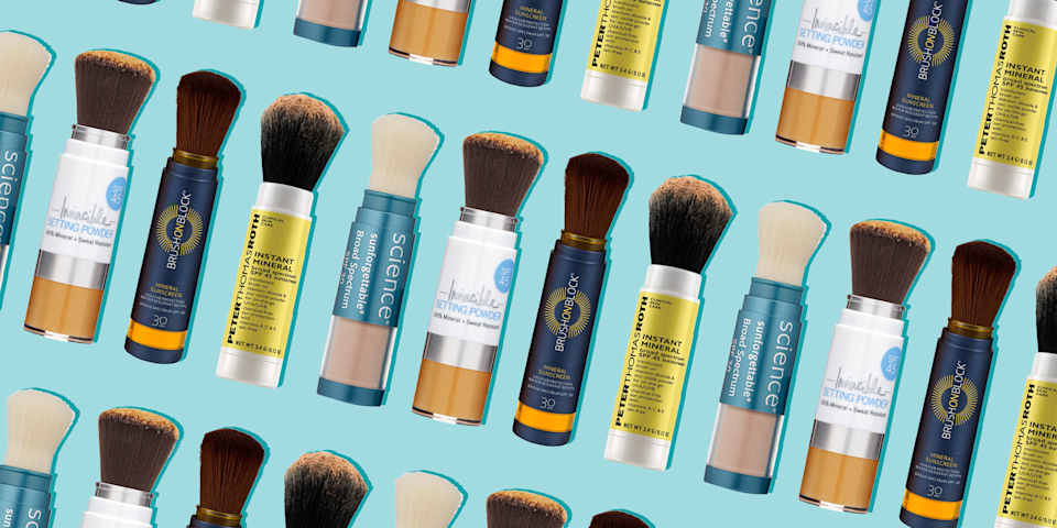 These Lightweight Powder Sunscreens Will Perfect Your Skin While Protecting It