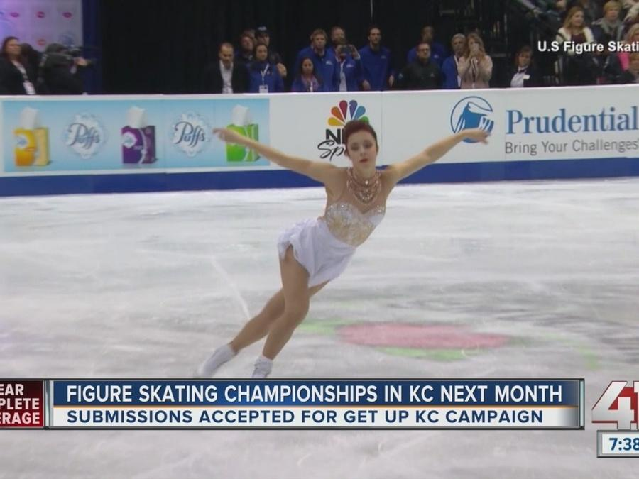 The 2017 U.S. Figure Skating Championships kickoff in January at the Sprint Center.