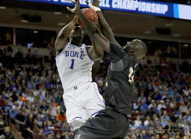UCF's Fall: 'I won't allow' Zion to dunk on me