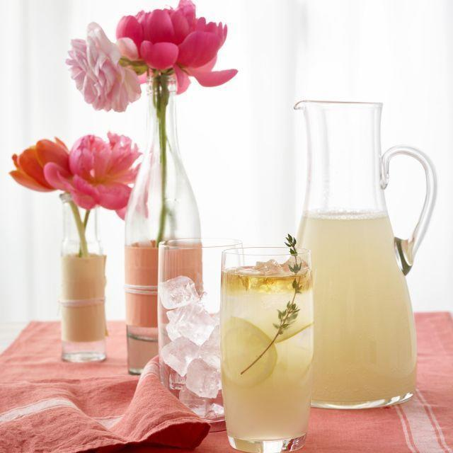 "<p>Fresh thyme is an easy way to upgrade lemonade and delight your grown-up palette. </p><p><strong><em><a href=""https://www.womansday.com/food-recipes/food-drinks/recipes/a54429/sparkling-thyme-lemonade-recipe/"" rel=""nofollow noopener"" target=""_blank"" data-ylk=""slk:Get the recipe for Sparkling Thyme Lemonade"" class=""link rapid-noclick-resp"">Get the recipe for Sparkling Thyme Lemonade</a></em></strong> </p>"