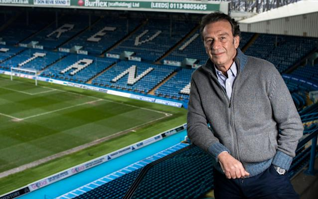 <span>Massimo Cellino took over Leeds in 2014</span> <span>Credit: Paul Cooper </span>
