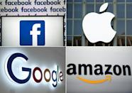 Facebook, Google, Amazon, and Apple are among tech titans that have thrived as the pandemic accelerated a shift to working, learning, shopping and socializing online