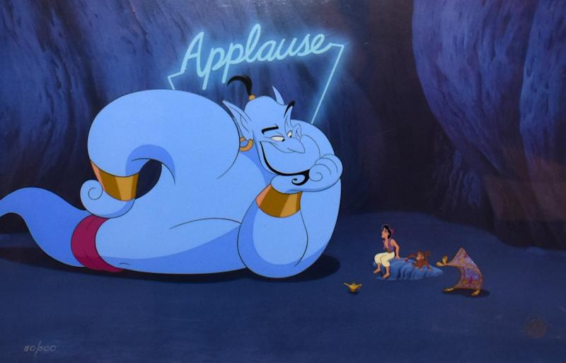 "There is a ton of interest for Disney's new streaming service.(Photo: Screenshot/""Aladdin""/Disney)"
