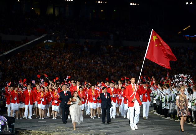 China's Olympians would once have been feted at home as standard-bearers for communism, but can 