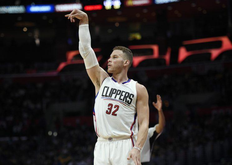 Blake Griffin got a fifth year and the max from the Clippers. (Getty)