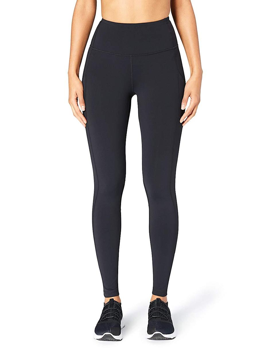 "<h3><a href=""https://www.amazon.com/Core-10-Womens-Onstride-Legging/dp/B072F5LC87"" rel=""nofollow noopener"" target=""_blank"" data-ylk=""slk:Core 10 Full-Length Legging With Pockets"" class=""link rapid-noclick-resp"">Core 10 Full-Length Legging With Pockets</a> </h3><br><br>4.4 out of 5 stars and 306 reviews<br><br><strong>Promising Review:</strong> According to <a href=""https://www.amazon.com/gp/customer-reviews/RA663R5LRTHT4/"" rel=""nofollow noopener"" target=""_blank"" data-ylk=""slk:one reviewer"" class=""link rapid-noclick-resp"">one reviewer</a>, these are the ""holy grail"" of leggings, particularly for plus-size shoppers. And while she notes they are expensive, you can score this pair at almost half the price during Prime Day: ""It's not easy to find a pair of leggings that won't roll down during runs but I didn't have to adjust these once during my last race. The feel of these leggings was great as well. They had a degree of compression to them where I felt secure, but not so much where I felt suffocated. I wish they weren't so expensive, but they are definitely quality leggings and I will probably be ordering more.""<br><br><strong>Core 10</strong> 'Build Your Own' Onstride Run Full-Length Legging with, $, available at <a href=""https://www.amazon.com/Core-10-Womens-Onstride-Legging/dp/B071NQ9B8Z"" rel=""nofollow noopener"" target=""_blank"" data-ylk=""slk:Amazon"" class=""link rapid-noclick-resp"">Amazon</a>"